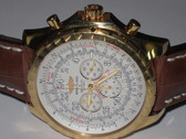 Mens Breitling Bentley 18K Gold Le Mans Limited Edition Watch - MBRT01