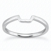14K Plain Fitted Wedding Band - ENS2062-1-B