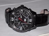 Mens Jacob & Co JC 47mm JC2-BCDA Watch With Black Diamond Bezel