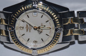 Womens Breitling Chronomat Callistino 18K Gold Watch