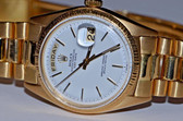 Mens Rolex Day-Date President 18K Solid Gold