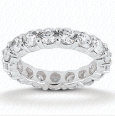 Women's 14K Diamond Eternity Wedding Band