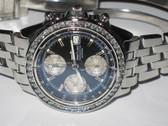 Mens Breitling Chronomat Diamond Watch - MBRT34