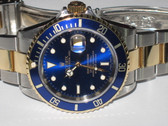 Mens Rolex Submariner 18K Gold Watch