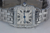 Womens Cartier Demoissele Diamond Watch