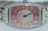 Womens Franck Muller Chronometro 1752 QZ Diamond Watch