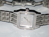 Womens Croton Panther Diamond Watch - WCROT01