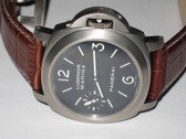 Mens Panerai 118 PAM 118 Luminor Marina Titanium