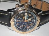 Mens Breitling Chronomat Evolution 18K Rose Gold Watch - MBRT100