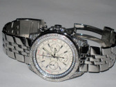 Mens Breitling Bentley 6.75 Double Row Bezel Watch - MBRT104