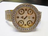 Mens Jacob & Co 18K Gold Diamond Watch