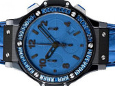 Men's Hublot Big Bang Tutti Frutti Dark Blue Watch