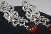 Hand Crafted Silver Collection - Garnet Crystals