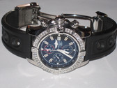 Mens Breitling Super Avenger Diamond Watch - MBRT20