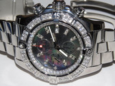 Mens Breitling Super Avenger Diamond Watch - MBRT41