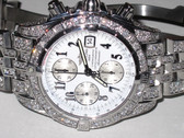 Mens Breitling Chronomat Evolution Diamond Watch - MBRT58