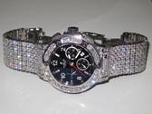 Mens Hublot Big Bang Chronograph Diamond Watch - MHUB02