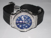Mens Hublot Big Bang Chronograph Diamond Watch - MHUB03