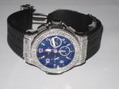 Mens Hublot Big Bang Chronograph Diamond Watch - MHUB03