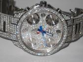 Mens Jacob & Co 47mm Diamond Watch -  MJCB07