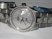 Mens Rolex Datejust Oyster Perpetual Diamond Watch - MRLX23