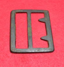 Confederate Beveled Edge Georgia Frame Buckle Recovered in NW Georgia