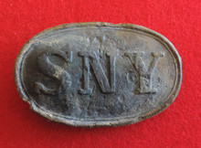 Model 1850 State of New York (SNY) Belt Buckle