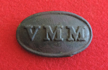 Volunteer Maine Militia Buckle