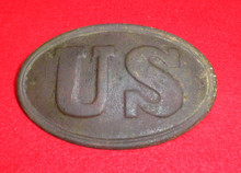 US Cartridge Box Plate With Both Loops From the Battle of Rocky Face, GA