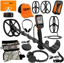 Used Demo Quest Q40 Metal Detector+ Pack