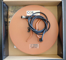 "Coiltech 11"" AI Coil for Minelab GPX. GP and SD Series of  Detectors"