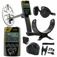 "XP ORX Wireless Metal Detector with 9.5"" Elliptical DD High Frequency Waterproof Coil"