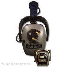 DectorPro GREY GHOST FOR XP DEUS & ORX METAL DETECTORS