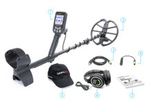 "Nokta Makro Simplex+ WHP Metal Detector with Wireless Headphones and 11"" DD Coil"