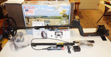 Used Minelab E-Trac Metal Detector With Sun-Ray Probe