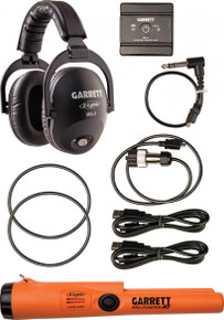 Garrett Z-Lynk MS-3 Wireless Headphone Kit with Z-Lynk Pro-Pointer AT
