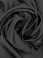 Black Roselyn Poly Satin 60""