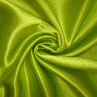 Poly Crepe Back Satin - Chartreuse