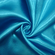 Poly Crepe Back Satin - Ming Blue