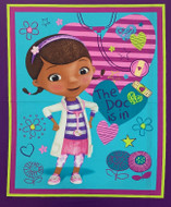 Doc McStuffins Cotton Panel