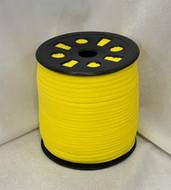 """Yellow Ganel 1/16"""" Corded Elastic"""