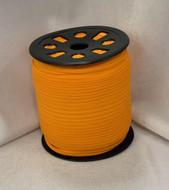 "Orange Ganel 1/16"" Corded Elastic"