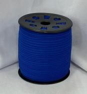 "Dark Blue Ganel 1/16"" Corded Elastic"