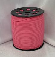 "Pink Ganel 1/16"" Corded Elastic"