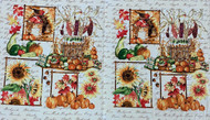 "Cream Autumn Splendor ""PANEL"""