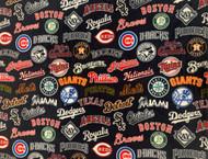 MLB All Teams FLEECE Print
