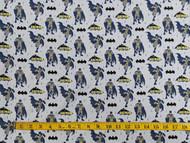 Grey Batman Young DC Cotton Print