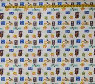 Multi Toy Story 4 Cotton Print