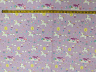 Lilac Magical Forest Cotton Print