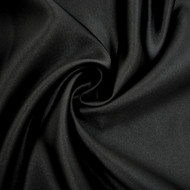 Poly Satin Mystique - Ultra Black